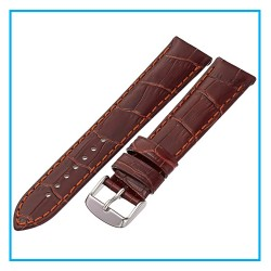 LEATHER STRAP FOR APPLE WATCH SERIES 4 44MM / 42MM BROWN