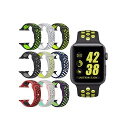Rubber Strap Bands for Apple Watch Series 4/5 - Nike Edition Sports Band