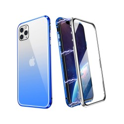 Magnetic Metal Frame Double Side Tempered Glass Full Screen Coverage For iPhone 11, 11 Pro, 11 Pro Max & Huawei Mate 30 Pro