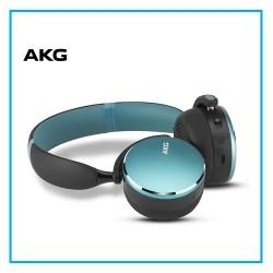 AKG Y500 On Ear Foldable Wireless Bluetooth Headphones - Green