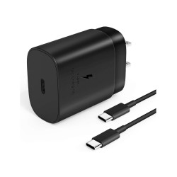 Samsung USB Type-C Wall Charger, Fast Charging Super Fast Charging for Samsung Galaxy S20/S20 Plus/S20 Ultra & Note 10/ 10 Plus, S10 5G Model.