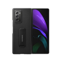 Official Samsung Galaxy Z Fold 2 5G Aramid Standing Cover Case