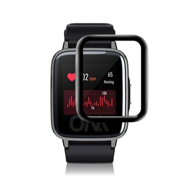 Tempered Glass Full Screen Protector for Xiaomi Haylou LS02/LS01 Smart Watch
