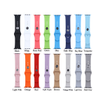 Solid Rubber Strap Bands for Apple Watch Series 4/5