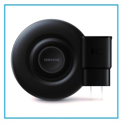 Samsung Qi Certified Fast Charge Wireless Charger Pad 9W with Cooling Fan for Galaxy Phones, Watches and Apple iPhone Devices