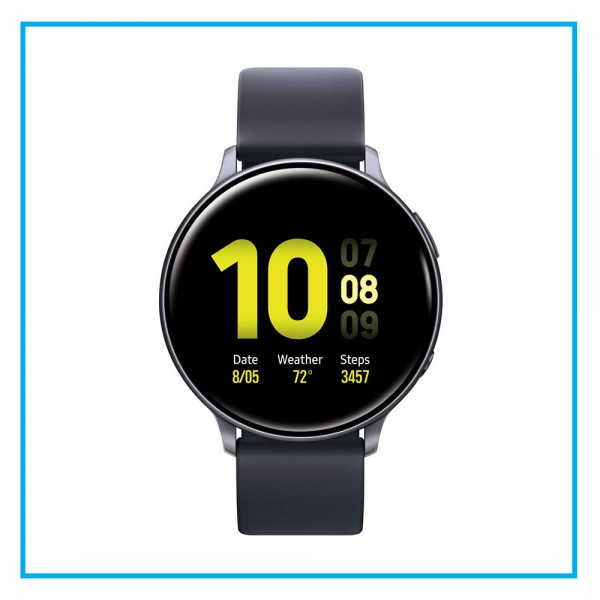 Samsung Galaxy Watch Active 2 - 44mm Aluminum - Aqua Black