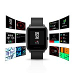 Amazfit Bip SmartWatch by Xiaomi with All-Day Heart Rate and Activity Tracking, Sleep Monitoring, GPS, Ultra-Long Battery Life, Bluetooth