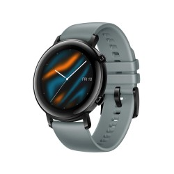 HUAWEI Watch GT 2 (42 mm) Smart Watch, 1.2 Inch AMOLED Display with 3D Glass Screen, 1 Week Battery Life, GPS, 15 Sport Modes, Lake Cyan