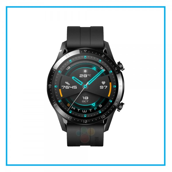 HUAWEI Watch GT 2 2019 Bluetooth SmartWatch, Longer Lasting 2 Weeks Battery Life, Waterproof, Compatible with iPhone and Android, 46mm