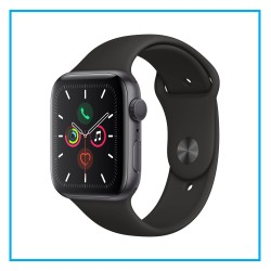 Apple Watch Series 5 44mm Space Gray Aluminum Case with Sport Band (GPS)