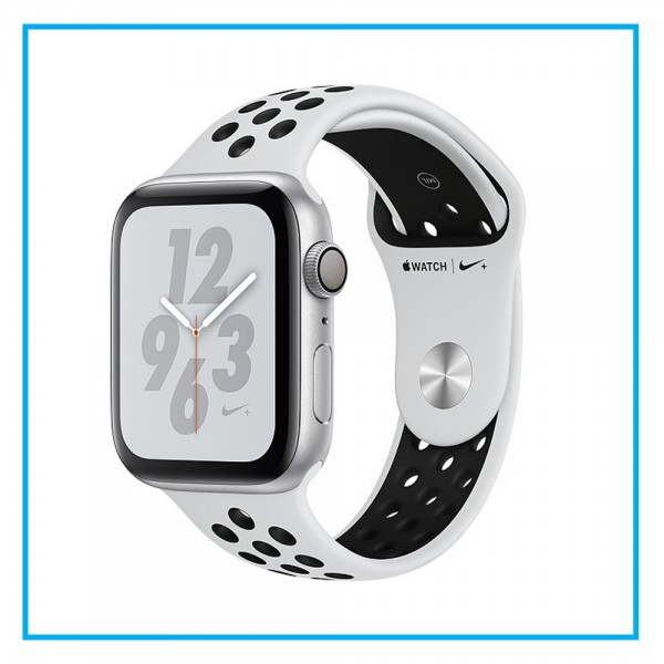 Apple Watch Nike+ Series 4 (GPS) 44mm Silver with Pure Platinum Nike Band